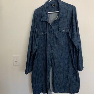 Simply Emma denim jeans dress